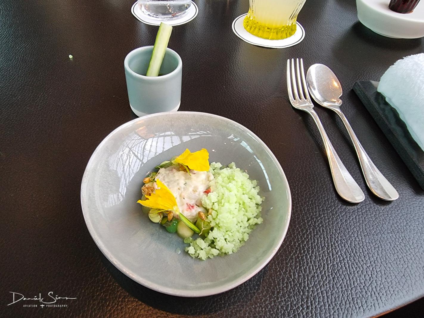 Bretonischer Hummer – Gurke – Weizengras