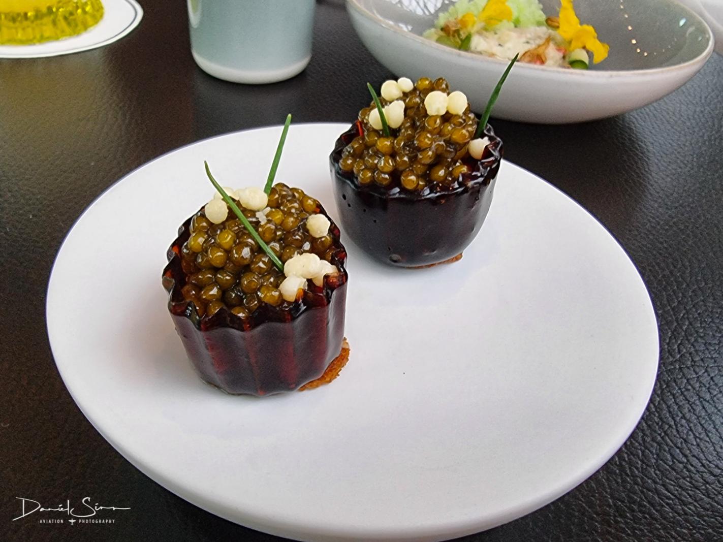Oxtail – Kaviar – Crème fraîche